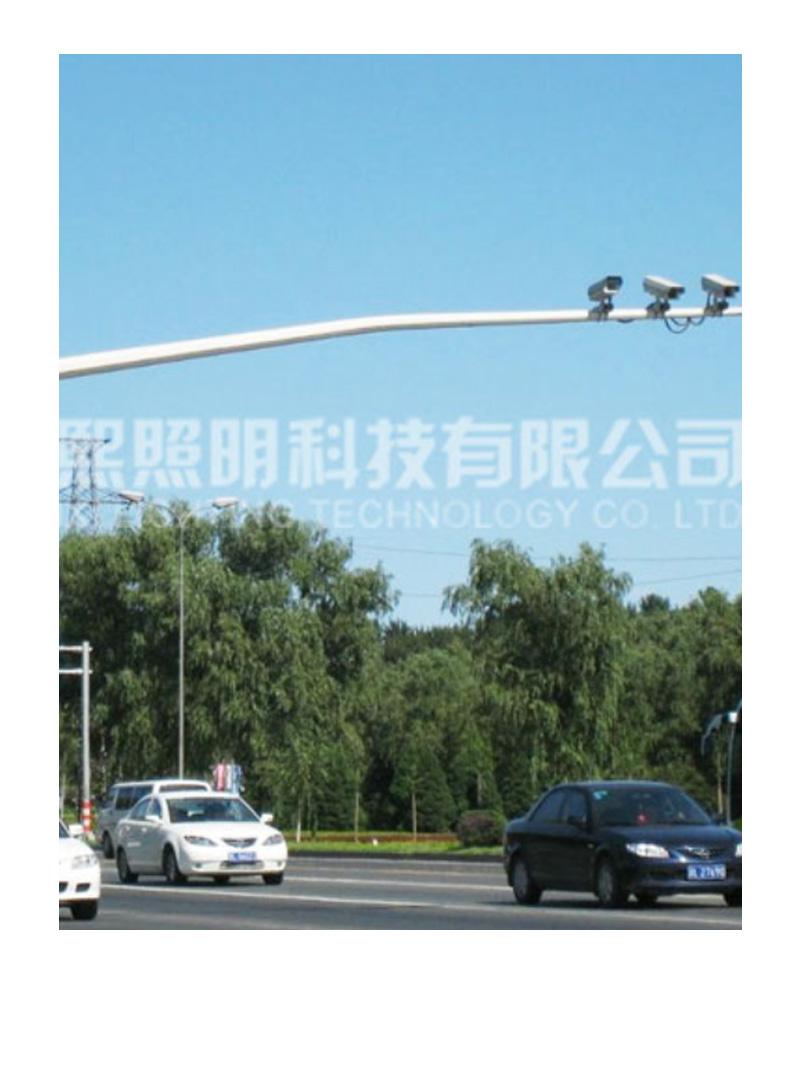 道路监控灯杆